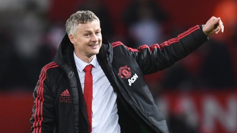Ole Gunnar Solskjaer selects his starting XI a month before games
