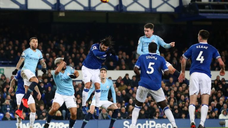 Why Everton vs Man City isn't on TV in the UK