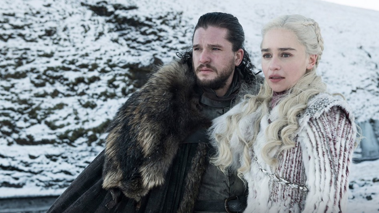Everyone looks worried in the latest batch of first-look images at the final season of Game Of Thrones
