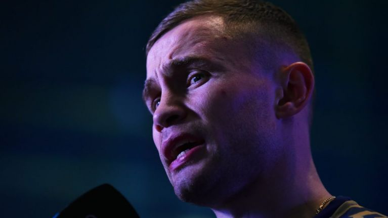 Carl Frampton confirms discussions held over trilogy fight with Leo