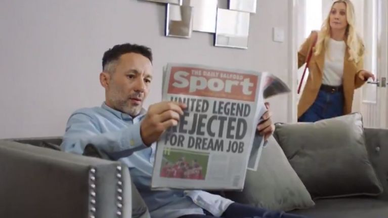 Paddy Power reveal Rhodri Giggs as new ambassador with 'loyalty is dead' promo video