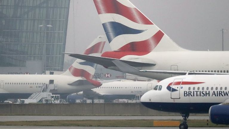 WATCH: Plane forced to abort landing at Heathrow as Storm Erik takes hold