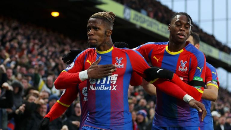 West Ham fans brought back down to earth by one simple fact after mocking Wilfried Zaha