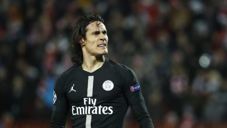 Edinson Cavani to miss Man Utd Champions League game