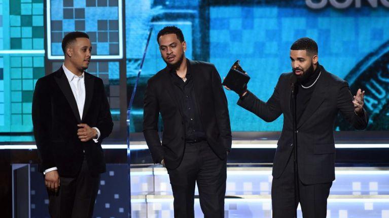 Drake cut off during Grammy speech after winning Best Rap Song