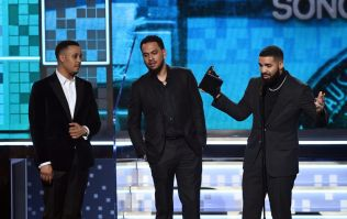 Drake cut off during Grammy speech after winning Best Rap Song