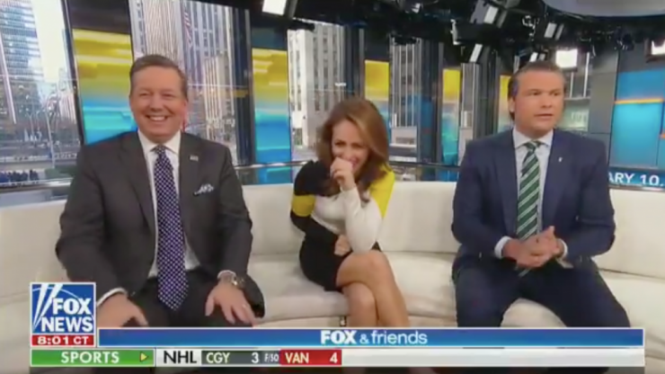 Fox News host claims germs don't exist because he can't see them