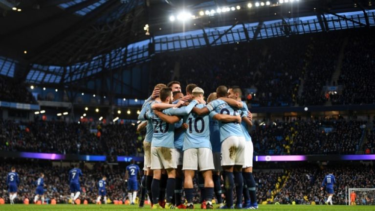 Manchester City apologise for song played after final whistle of Chelsea drubbing