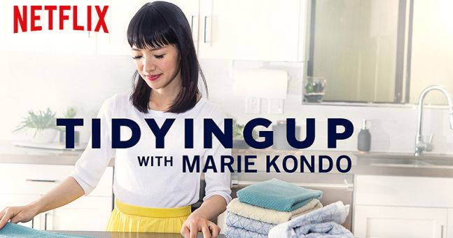 7 life lessons learned from watching tidying up with marie kondo. Black Bedroom Furniture Sets. Home Design Ideas