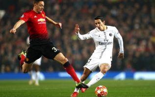 Watch Angel Di Maria scream 'f*** off' at Manchester United fans