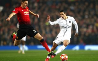 Watch Angel Di Maria scream 'f*** off' at Manchester United fans