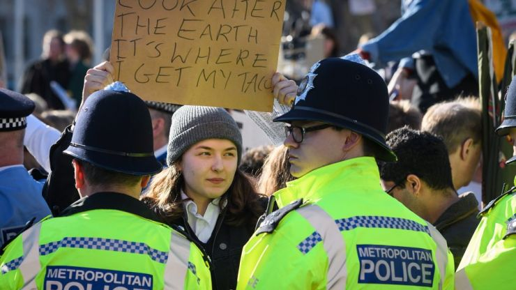 Tories confirm contempt of young people with response to climate change protests