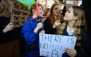 Teacher: Snow two weeks ago more disruptive than climate change protest