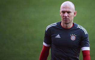 Arjen Robben names Liverpool's ground Anfield as his least favourite stadium to play in