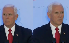 Behold Mike Pence waiting for applause in the most excruciating speech you'll ever see