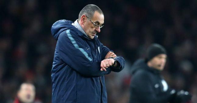 Chelsea hold crisis talks with Maurizio Sarri amid concerns over recent performances