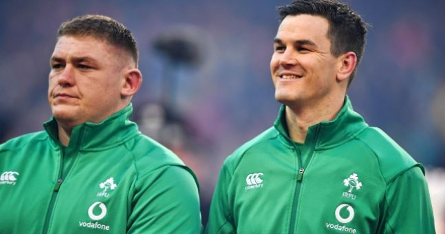 Ireland call-up for Adam Byrne as Will Addison ruled out of Italy match