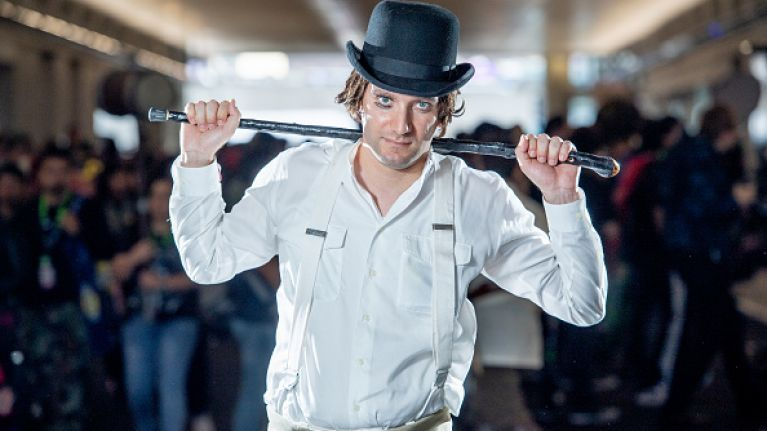 'A Clockwork Orange' will be re-released in April with brand new trailer
