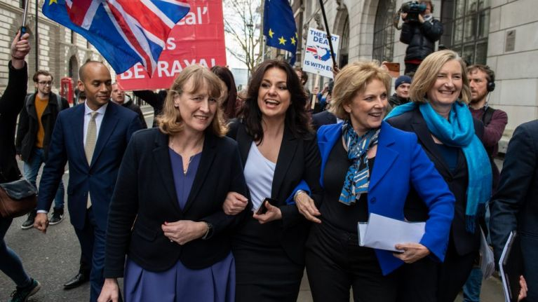 Three Conservative MPs quit party to join Independent Group