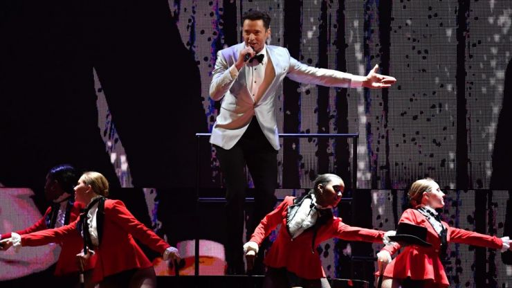 Hugh Jackman opened the Brit awards with The Greatest Show and people absolutely loved it