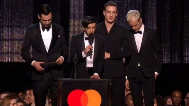 Matt Healy makes passionate speech about sexual harrassment at the BRIT Awards