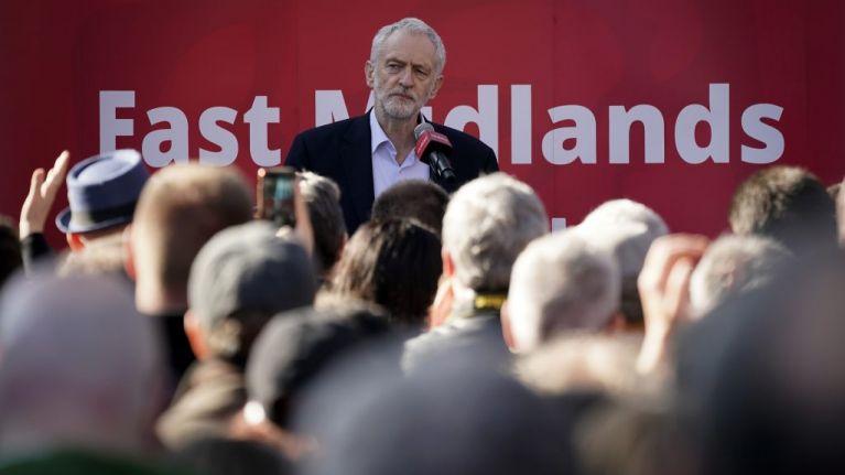 Jeremy Corbyn apes Donald Trump and attacks 'mainstream media'