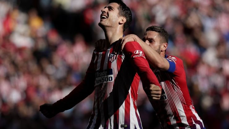 Alvaro Morata finally breaks Atlético Madrid duck with absolute beauty of a team goal