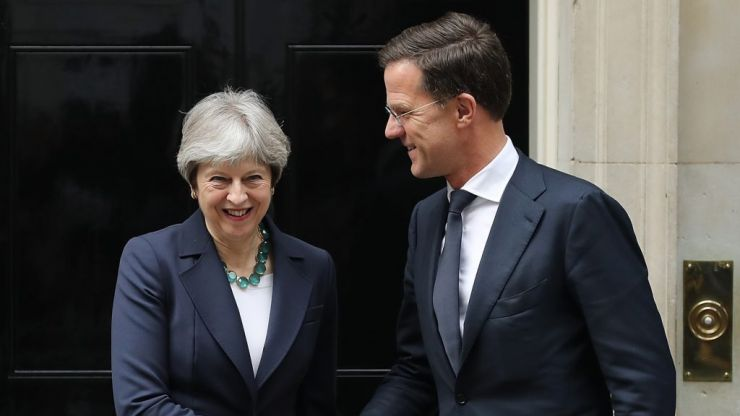 Dutch PM urges Theresa May to 'wake up' over 'sleep walking' into no deal Brexit