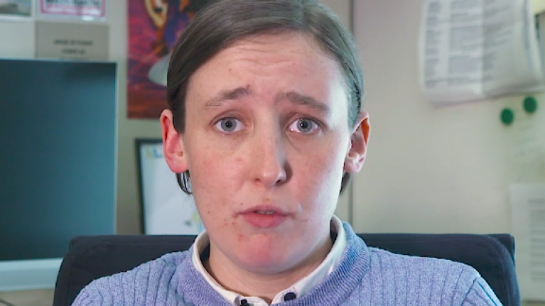 Mhairi Black reads out moronic transphobic Twitter abuse