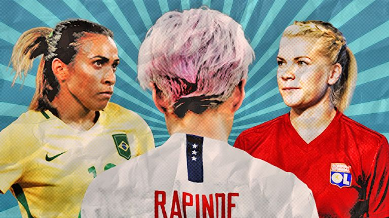 Women's football is on the rise, but it already has its transcendent icons