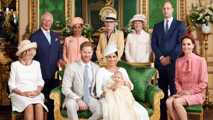 Ranking Archie's christening attendees from least to most worried about climate change