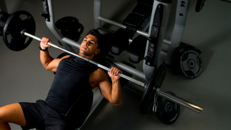 Should you bench press with a close grip like Athlean-X?