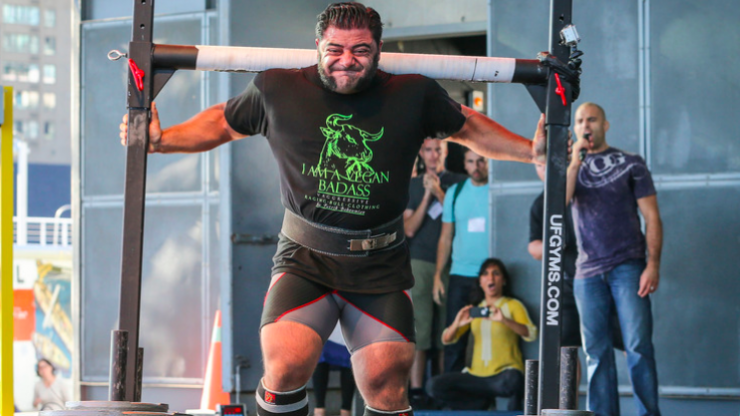 Vegan strongman hits out at claims there are no good vegan weightlifters