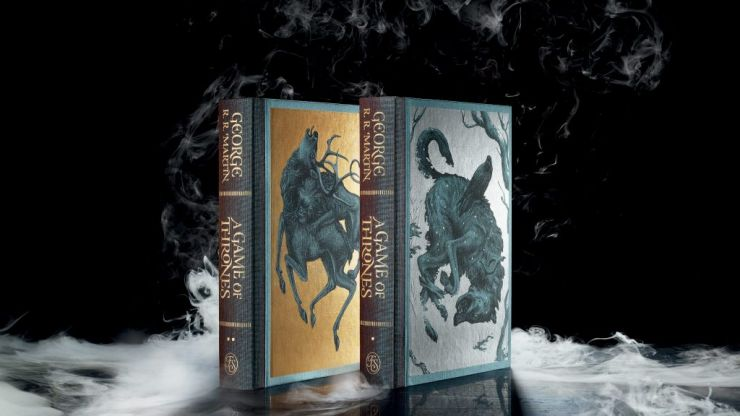 This collector's edition of A Game of Thrones might just heal the wounds of season eight