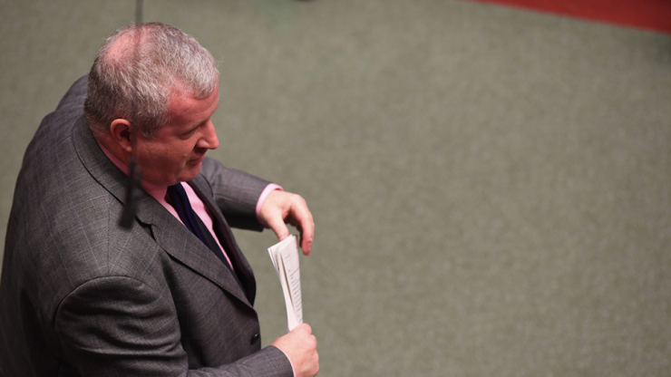 Ian Blackford excoriates Theresa May at her penultimate PMQs