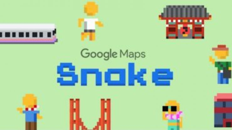 You can now play classic Snake on Google Maps