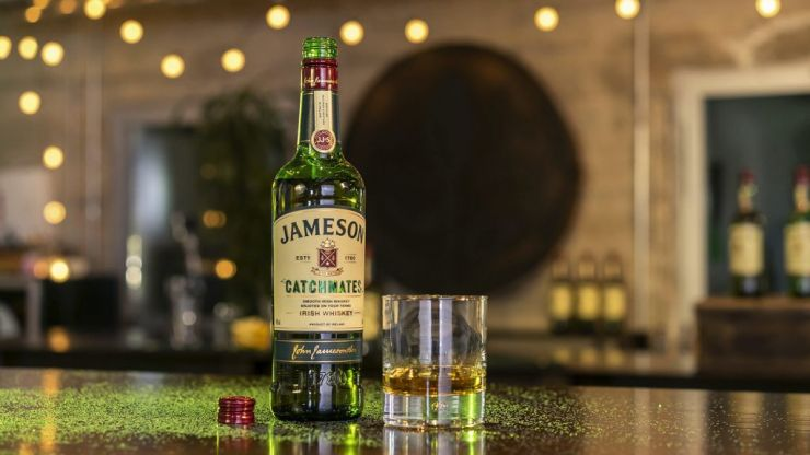 Jameson's glitter-filled, whiskey thief-catching device was actually an April Fool's joke