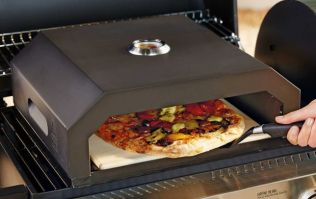 Aldi is selling an outdoor BBQ pizza oven for a bargain price
