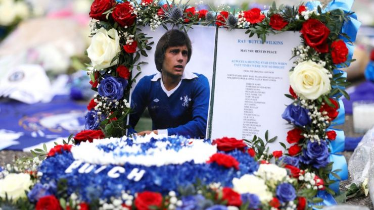 Ex-soldier tells story of how Ray Wilkins helped turn his life around
