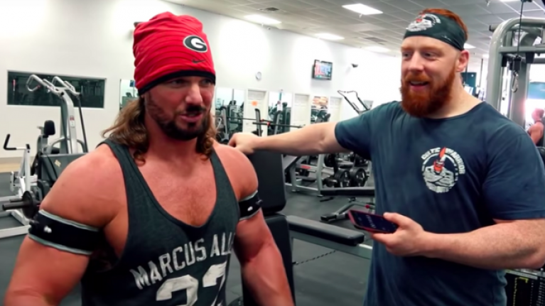 WWE: Sheamus and AJ Styles try out Blood Flow Restriction (BFR) training
