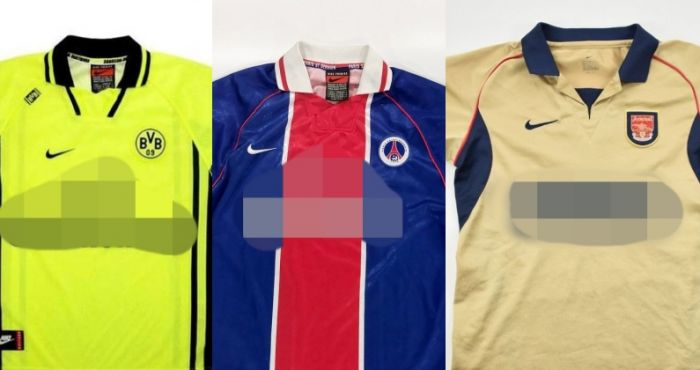 QUIZ: Can you name these retro football kit sponsors?