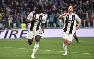 Moise Kean scores the winner for Juve and guess who was first to celebrate with him