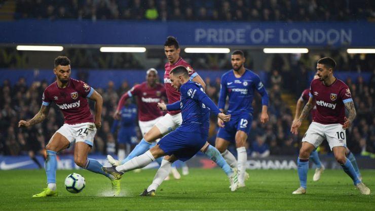 Eden Hazard goes full Black Swan and dances through the entirety of West Ham's 'terrified' team