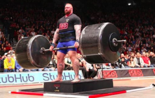The Mountain from Game of Thrones wins Europe's Strongest Man