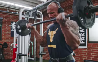 The Rock's bicep training trick will easily help you build bigger arms