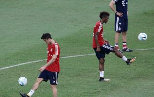 Kingsley Coman and Robert Lewandowski reportedly trade punches during Bayern Munich training