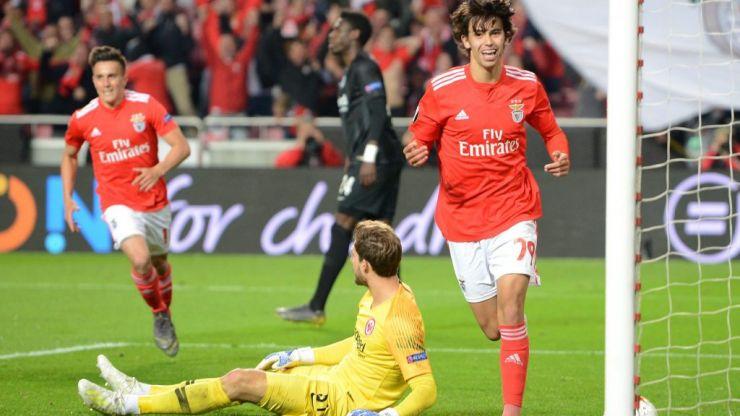 Man Utd target Joao Felix scores hattrick in Benfica demolition of Eintracht Frankfurt