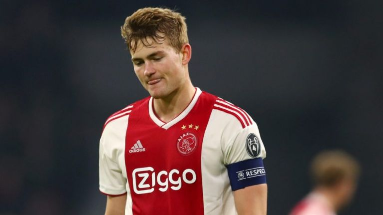 Matthijs De Ligt will join either Barcelona or Bayern Munich, says Ajax coach