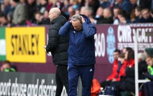 Neil Warnock fumes after Mike Dean reverses penalty decision in Burnley clash
