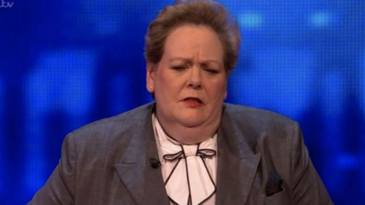 The Chase's Anne Hegerty confirms she was not topless at Newcastle United match